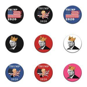 10 PC 1 Tronco Parches Bordados para el hierro Parche Ropa para el paño Costura de adornos accesorios etiquetas Trump insignia en la ropa de hierro en P # 29
