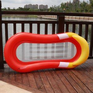 Şişme Diğer Bahçe Patio, Çim Bahçe Su Hamak Yüzer Yatak Şezlong Drifter Yüzme Havuzu Plaj Aksesuarları QP2 Malzemeleri