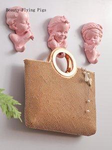 Gancio decorativo nordico porta singola creativa dietro la decorazione della parete di casa appeso a parete appendiabiti chiave forma carina punzonatura gratuita