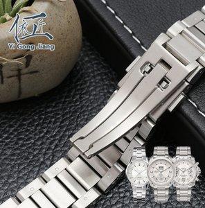 Часы Watch Watch Heuer 22 мм Сплошной тег Из Нержавеющей Чистые Маскированные Мужские Гудовые Ремень Браслеты для Стальной Notch Carrera VVMTT