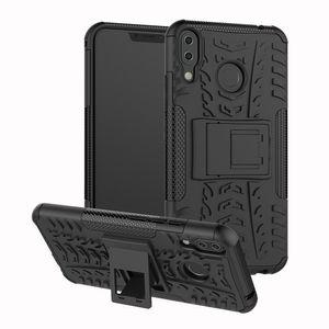 TPU + PC Dual Armor Cover mit Ständer für Asus Zenfone 5Z ZS620KL