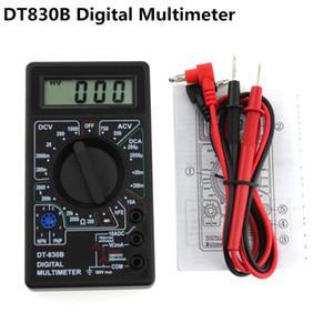 Urijk LCD رقمي متعدد DT830B AC / DC 750 / 1000V الفولتميتر مقياس التيار الكهربائي فاحص أوم السلامة العليا يده متر المحمولة المتر