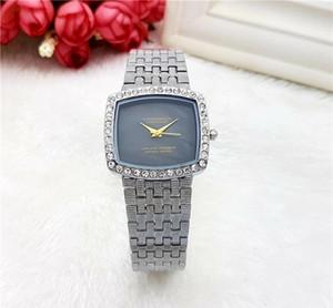 Ограниченная серия женщин горный хрусталь смотреть женщин роскоши алмазов часы женщины люксовый бренд браслет кристалл кварца квадратный часы Orologio