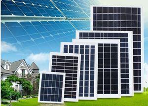 высокое качество 6v 10v 12v 6w 10w 15w 18w 30w алюминиевого поликремния панели солнечных батарей IP65 водонепроницаемая