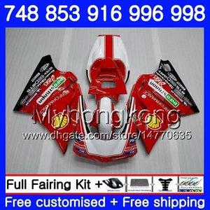 Kit para DUCATI 748 853 916 996 998 S 94 94 96 97 98 327HM.0 748S 853S 916R 996R 998S 748R 1994 1995 1996 1997 1998 Fairing Factory red hot