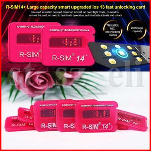 RSIM14 + desbloqueio para iphone RSIM cartão X iOS13 RSIM14 + RSIM14 + 14 ICCID automática desbloquear iOS x iPhone 8 8p 7 7p 6 6p sim rápida cartão de desbloqueio