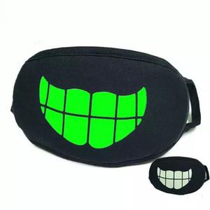 Anime Zipper Mask dos desenhos animados Kpop Tokyo Ghoul Máscaras Muffle face Boca Keep Warm Camuflagem Anti Poeira boca do algodão máscara 27