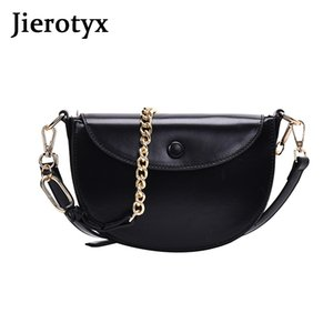 JIEROTYX 2020 New High Quality Women's Handbags Fashion Chains PU Leather Messenge Shoulder Bags For Female Luggage Travel Bags