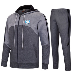 20-21 Israel Football Club Soccer Tracksuits Polyester Training Sportswear Kids Outdoor Training Suit Men's Autumn And Winter Soccer Sets