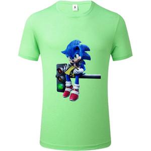 SOUTEAM Männer Frauen Rundhals T-shirts Brand Personality Printing T Multi-Muster Trend lose kurzen Ärmeln Paare Drucken