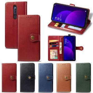 Ретро флип чехол для K1 для Oppo F11 Pro A9X F11 Pro A9 крышка бумажника случаи кобура Имитация кожи PU кожаный телефон BagsONE