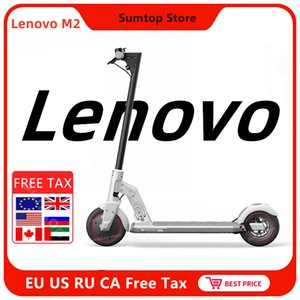 2020 Lenovo M2 Kickscooter Smart Electric Scooter Single Motor 350W 36V 7.5Ah Triple Brakes Absorption Skate Hover Board