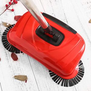 Broom Sweeper Hand Push Magic Brooms Kehrschaufel Griff Haushaltsreinigungspaket Kehrmopp Edelstahl-Kehrmaschine
