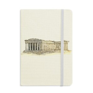 Acropolis of Athens of Greece Notebook Fabric Hard Cover Classic Journal Diary A5