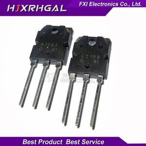 Livraison gratuite 40pcs / lot 20pcs 2SA1941 20pcs 2SC5198 A1941 C5198 tube audio son TO-3P original authentique