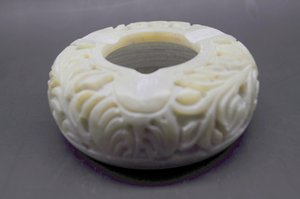 NATURAL STONE HAND CARVED ASHTRAY