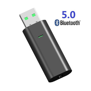 5.0 Bluetooth receiver transmitter Bluetooth audio 2-in-1 private USB telescopic Bluetooth Adapter