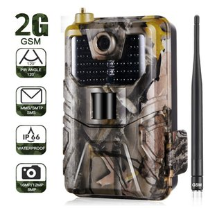 20MP 1080P Wildlife Trail Camera Photo Traps Night Vision 2G SMS MMS SMTP Email Cellular Hunting Cameras HC900M Surveillance T191016
