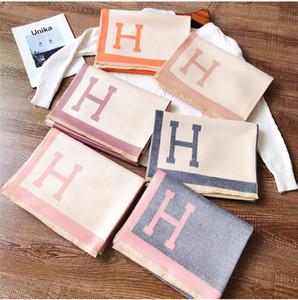 Imitação Cashmere Scarf Mulheres Outono Inverno Grosso lenço longo cachecol xale e xaile dupla utilização 6 cores para os amantes presentes DHL