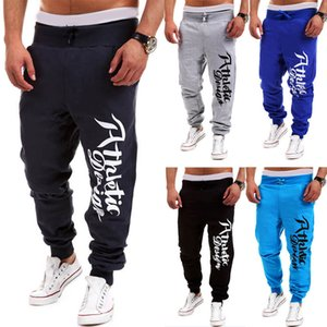 Alta Qualidade 2017 Homens Calças Sweatpants Harem Pants Calças Jogger Dança Correndo Sportswear Baggy alta elástica calças Athletic