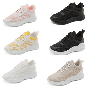 New Product Wholesale Running shoes for women white black TWO yellow pink womens trainer sports shoes online sale size 35-40