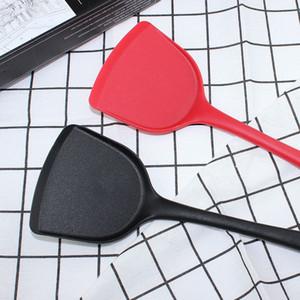 Spatola commestibile cucina del silicone Red Dot Acciaio silicone multicolore Pala antiaderente Spatola trasporto libero veloce