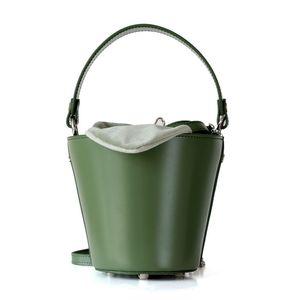 Designer-Mulher Saco Verão orelhas de coelho Pot Cultura portátil Packet Bucket Package Oblique Satchel