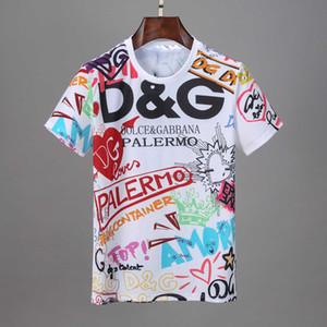 Erkekler 3D Kafatası Moda Soğuk Tasarım T Shirt New Yaz Tişörtlü Streetwear Rhinestones Tee Casual Hip Hop Tişört Medusa T-Shirt