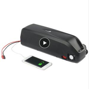 Frete grátis Superior qualidade 48 V 17AH Hailong bateria Ebiike tubo de bateria para 750 W 1000 W motor com 2A carregador