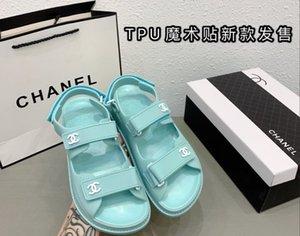 2020 горячих новых женщин тапочки классические дамские панели Jelly сандалии ПВХ оптовой обуви свободную перевозку груза высокого качества способа лета квартиру
