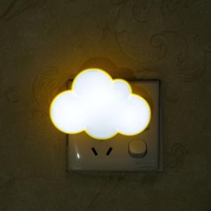 Room home head lamp night lamp night bedroom colorful home romantic warm bedside light plug-in wall sleeping light sleeping baby
