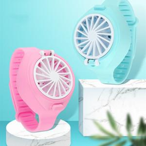 2020 Fan-Uhr-Handheld-kleiner Ventilator Kleingeräte Kreative Klimaanlage Ventilator Mini Faul Geschenke der Kinder T2I5913