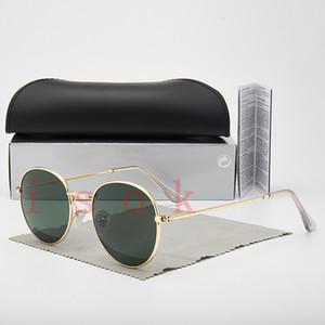 10pcs, Großhandelsqualitäts-Art- und 3447 Sonnenbrille Marke der Frauen Männer Designer-Sonnenbrillen polarisierten Gläsern Brille mit Koffer und Box