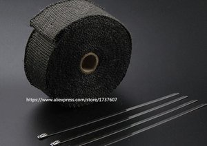 15 Motorcycles Exhaust Header Pipe Wrap Heat Manifold Insulation Cloth Roll With Motorcycle heat insulation