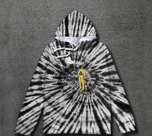 Astroworld cappuccio, da Uomo Donna Tie Dyeing Travis ScoTour Astronaut Astroworld Hoodies Uomini Donne Pullover Felpe Nuovo