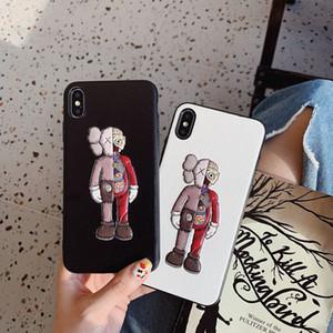 Lüks Telefon Kılıfı Tasarımcı Marka Doll Arka Gerçek Kapak Case 2019 Yeni IPhone 11 / 11Pro / 11Pro MAX XR XSMAX X / XS 7P / 8P 7/8 Yüksek Kalite