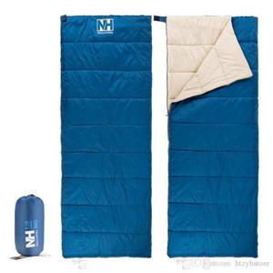 Vente en gros- Naturehike Splicing Double sac de couchage Ultralight Sacs de couchage Enveloppe Split Sac de couchage Printemps Été NH15A150-D