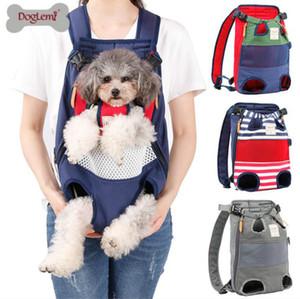2020 Sac à dos de chien Porte-Mesh Camouflage Outdoor Products Voyage Respirant Sacs poignée d'épaule pour petits chiens chats Chihuahua