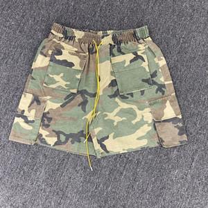 2020ss New Shorts Männer Frauen Sommer-Art-Maxi-Shorts Hiphop Multi Taschen Lässige Cargo-Shorts
