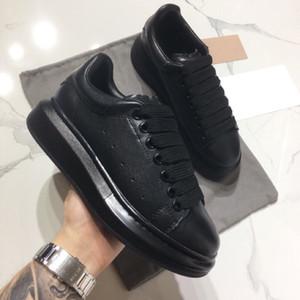 asics 1 McQueenZapatillas de deporte de diseño Zapatos casuales para mujeres y hombres con cordones de cuero genuino zapatos casuales planos Negro Rojo Rosa zapatillas de deporte