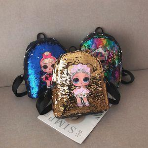 Chilren 키즈 여자 학교 가방 패션 여행 어깨 배낭 가방 미니 배낭 아이 학교 가방에 장식 조각 가방