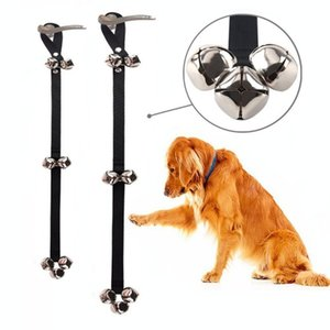 Adjustable Pet Dog Training Doorbell Rope Housetraining and Communicate Alarm Door Bell for Dogs and Cats Tools CM