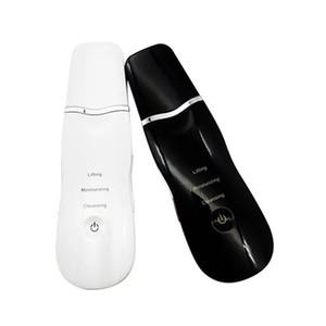 Micro visage ultrasonique électrique épurateur de peau morte visage nettoyage Black Remover tête pelle machine beauté machine