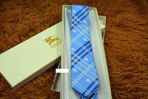 높은 품질의 실크 원사 염색 자카드 넥타이 남성 정장 셔츠 패션 넥타이 포장 상자