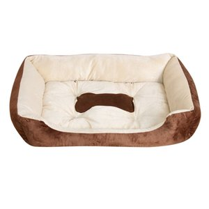 2017 Autumn Winter Pets Dog Bed Warming Plush Dog House High Elastic PP Cotton Pet Nest Dog Warm Nest For Cat Puppy Pet Supplies