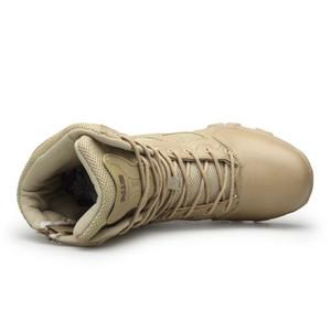 حار بيع الرجال \ 'ق الجيش العسكرية التكتيكية أحذية في الهواء الطلق مقاوم للماء الجانب البريدي أحذية المشي لمسافات طويلة للصيد (حجم: 39-47) 11 12 13