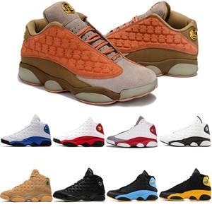 Nike air jordan retro 13s erkek bayan basketbol ayakkabı 13 s xiii Playoff Kap Ve Kıyafeti Buğday Chicago Lakers Rakipleri Chicago spor ayakkabı