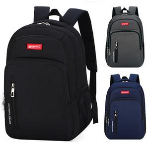 HG Мужская повседневная рюкзак Корейская версия большой вместительности студенческой сумки на открытом воздухе путешествия на короткие расстояния рюкзак