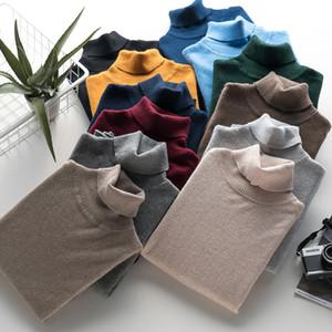 Caxemira camisola dos homens para o outono inverno roupas homem hombre robe puxar homme hiver pulôver de malha mens gola