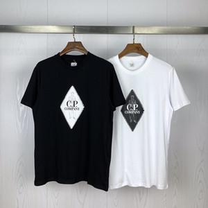 20SS CP T 셔츠 브랜드 남성 T 셔츠 회사 디자이너 t- 셔츠 남성 여자 CP 의상 럭셔리 티 CP 의류 여름 봄 스웨터 CX 20033002L
